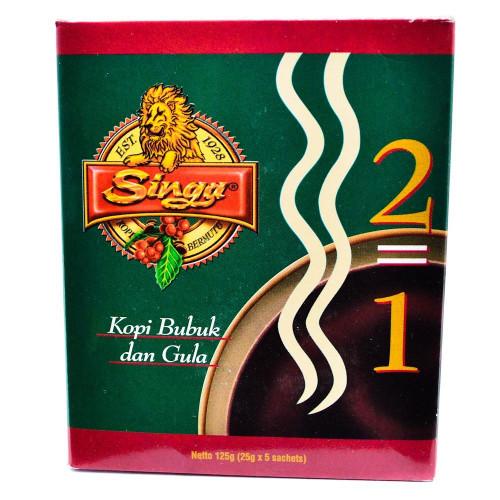 Singa Coffee 2in1 5-ct, 125 Gram