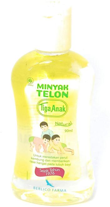 Tiga Anak Minyak Telon Oil, 60 Ml