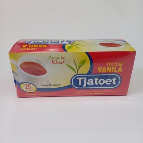 Teh Tjatoet Vanila Tea 25-ct, 50 Gram