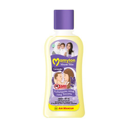 Minyak Telon Air Mancur Lavender, 60 Ml