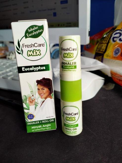 Fresh Care Mix Eucalyptus - Inhaler and Medicated Oil Aromatherapy