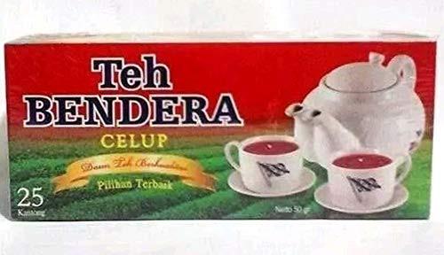 Bendera Teh Celup Teabag 25-ct, 50 Gram