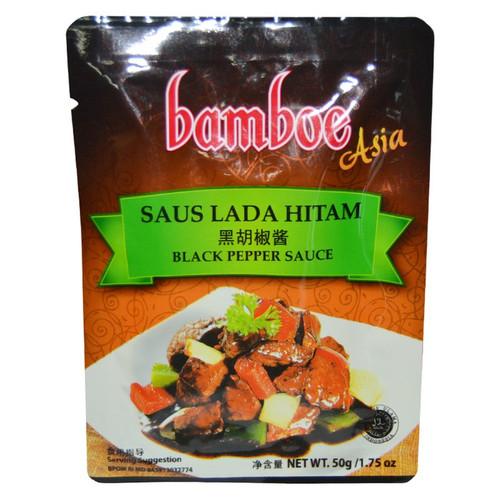Saus Lada Hitam (Black Pepper Sauce) - 1.75oz