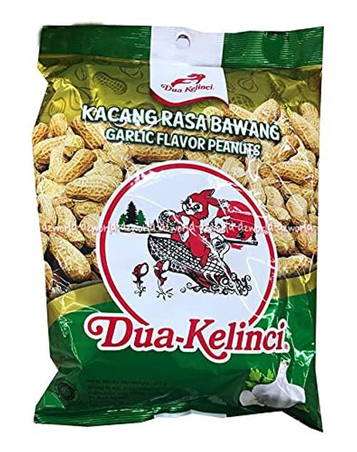Dua Kelinci Roasted Peanuts Garlic Flavour, 250 Gram
