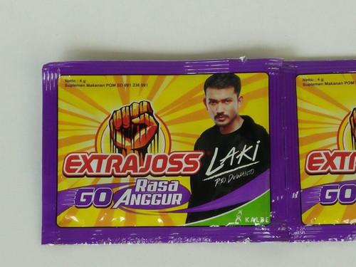 Extra Joss Go Rasa Anggur - Grape Flavor Energy Drink Powder 4gr, 15 Sachet