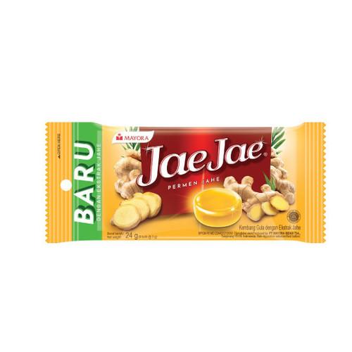 Jae Jae Permen Jahe Blister, 24 gr