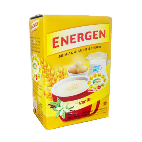 Energen Cereal and Milk Synergize Vanilla Box of 5-ct
