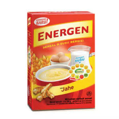 Energen Cereal and Ginger Nutritious Milk Box of 5-ct