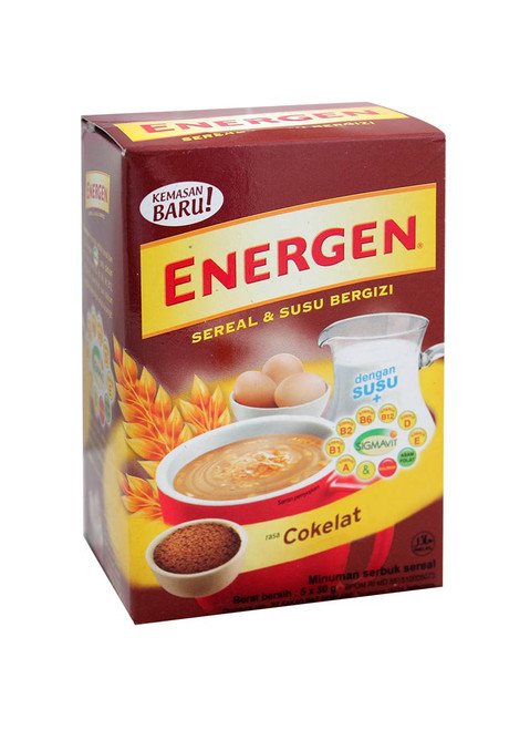 Energen Cereal and Nutritious Milk Chocolate Box of 5-ct