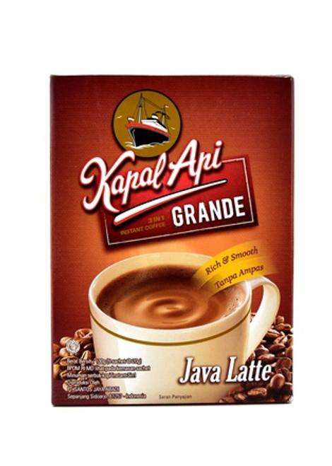 Kapal Api Grande Java Latte Box of 5-ct