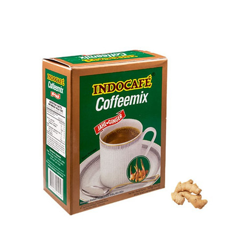 Indocafe Coffeemix Jahe Ginger  5-ct, 100 Gram