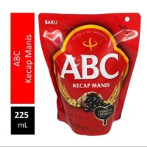 ABC Kecap Manis Refill ( Sweet Soy Sauce ), 225 ml