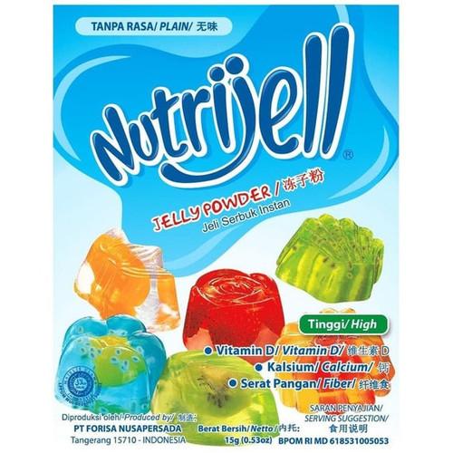Nutrijell Plain Jelly Powder ,15 gr