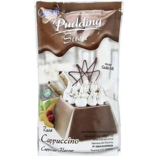 Nutrijell Puding Susu Cappucino (Cappucino Flavour) 145 gr - 5.1 oz