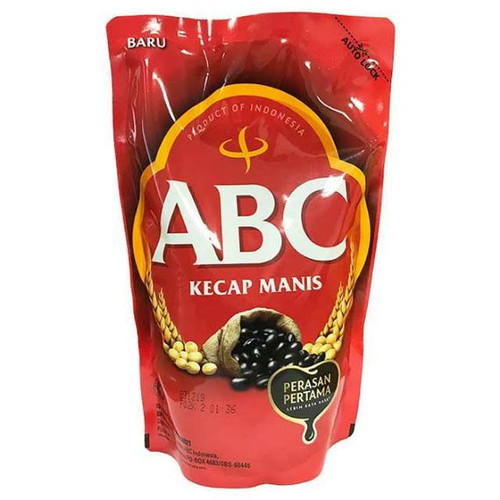 ABC Kecap Manis Refill ( Sweet Soy Sauce ), 520 ml