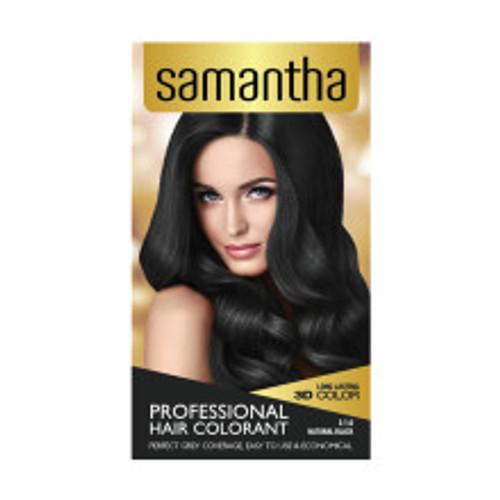 Samantha Hair Colorant Natural Black Box 25gr
