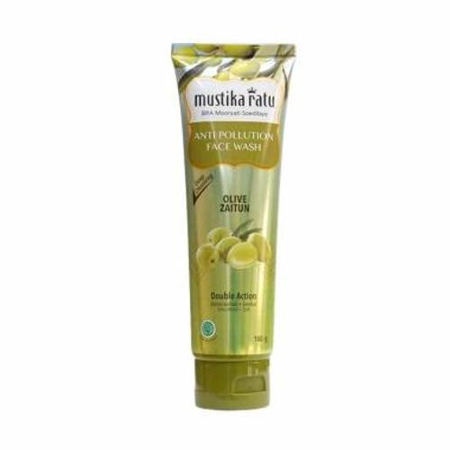 Mustika Ratu Face Wash Olive Zaitun MR 100gr
