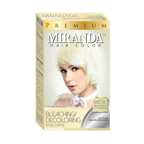 Miranda Hair Color Bleaching/Decoloring MC-6  (30ml+30gr)