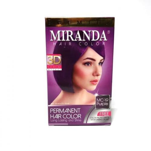 Miranda Hair Color Pink MC-19 (30ml + 30gr)