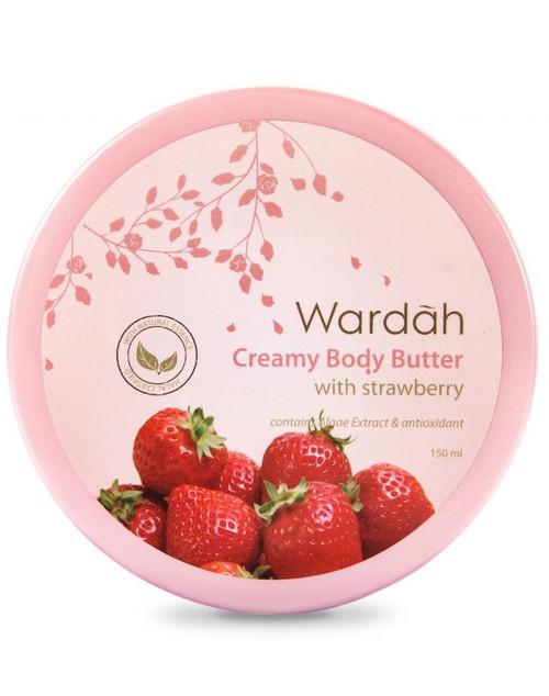 Wardah Creamy Body Butter with Strawberry 150ml
