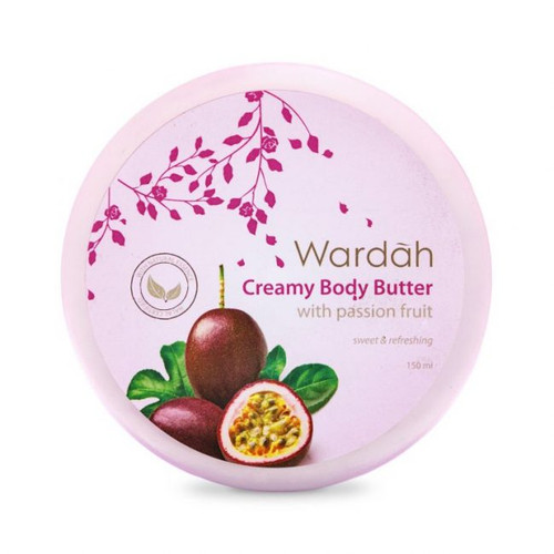 Wardah Creamy Body Butter with Passion Fruit 150ml