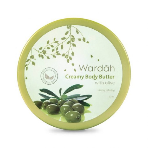 Wardah Creamy Body Butter With Olive 150ml
