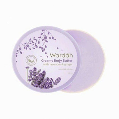 Wardah Creamy Body Butter with Lavender and Ginger 150ml