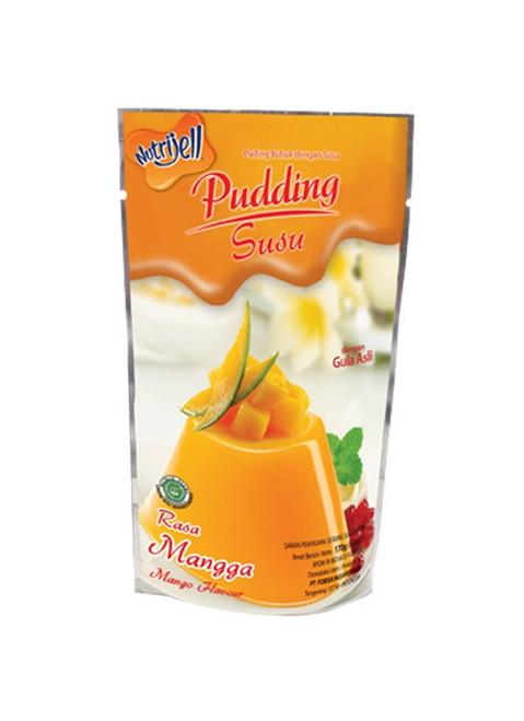 Nutrijell Puding Susu Mangga (Mango Flavor Milk Pudding) 170 gr - 5.99 oz