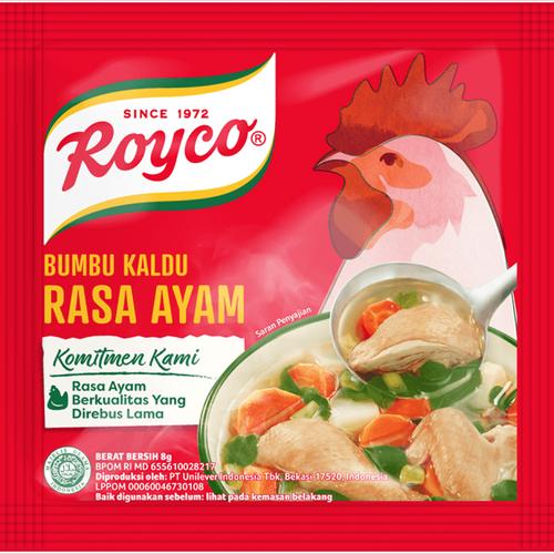 Royco Bumbu Penyedap Rasa Ayam ( Chicken Flavoring) -10ct , 80 gr