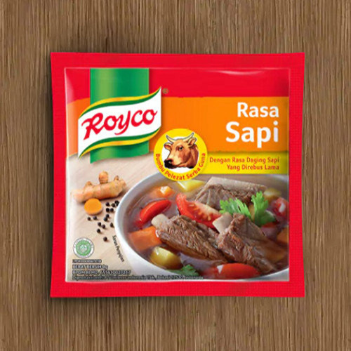 Royco Bumbu Penyedap Rasa Sapi ( Beef Flavoring) -10ct , 90 gr