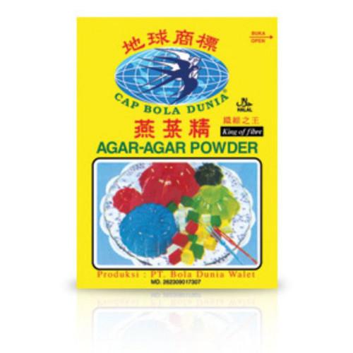 Bola Dunia Tepung Agar-Agar Powder Plain 7gr