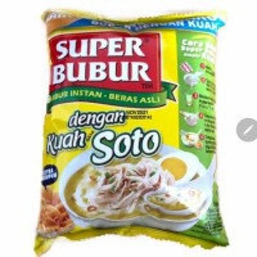 Super Bubur dengan Kuah Soto ( Delicious Instant Porridge with Soto soup ), 46 gr - 1.62 Oz