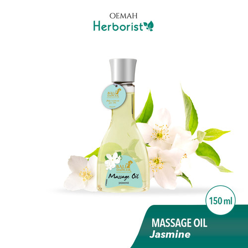 Bali Dancer Massage Oil Aromatherapy, 150 ml (Jasmine)