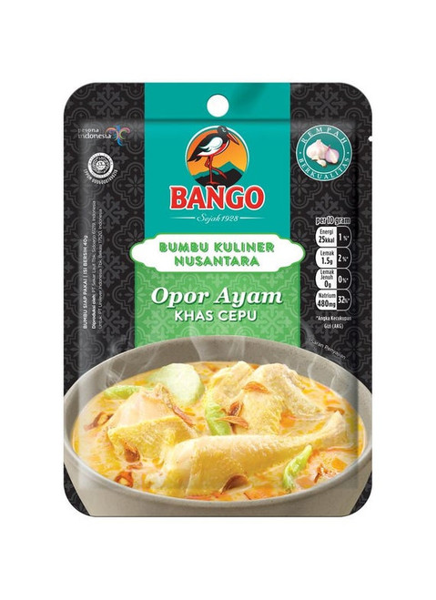 Bango Bumbu Opor Ayam Khas Cepu (Chicken Opor Instant Seasoning), 35gr - 1.23 oz