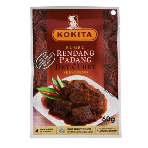 Kokita Bumbu Rendang Padang (Dry Curry Seasoning) - 60 gr