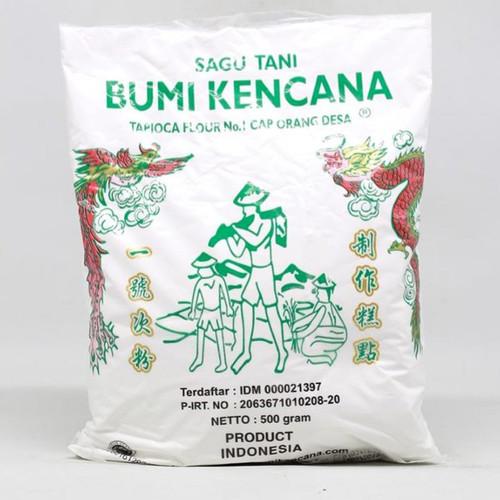 Sagu Tani Bumi Kencana Cap Orang Desa (Tapioca Flour), 500 Gram