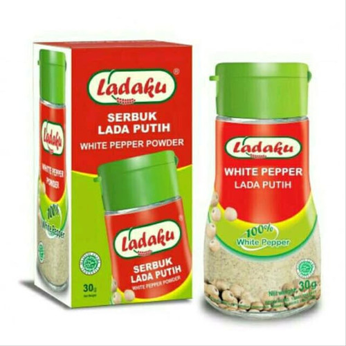 Ladaku White Pepper Powder Bottle ( Merica Bubuk ) 30 ml