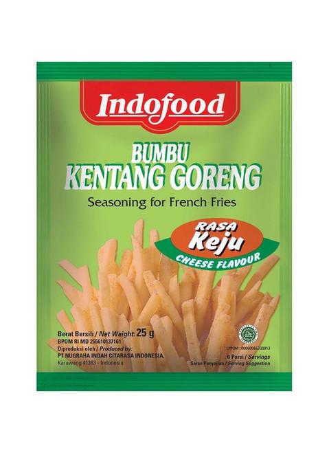Indofood Bumbu Kentang Goreng Keju ( Seasoning for French Fries Cheese Flavour ) 0.88 Oz (25 gr)