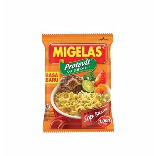 MIGELAS Protevit Mie Instant Rasa Sop Buntut (Oxtail Soup Flavour) 28 gr