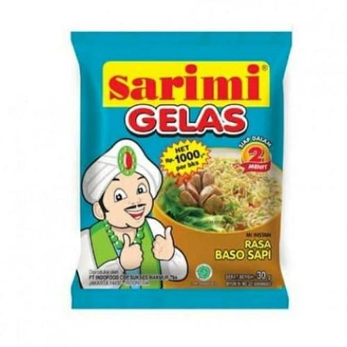 Sarimi Gelas Rasa Baso Sapi (Beef Meatball Flavor) 30 gr