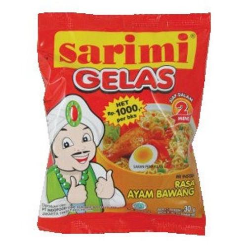Sarimi Gelas Rasa Ayam Bawang (Onion Chicken Flavor) 30 gr