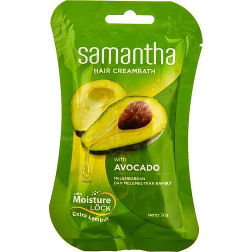 Samantha Hair Creambath Avocado 30g