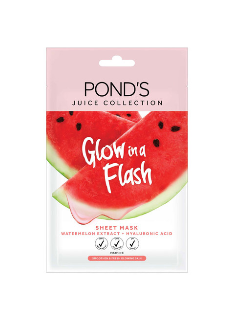 Pond's Juice Collection Sheet Mask Watermelon Extract, 20G