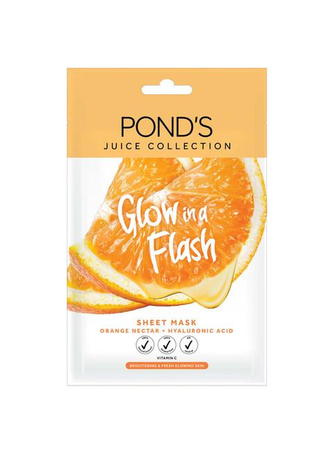 Ponds Juice Collection Sheet Mask Orange Nectar, 20G