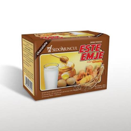 SidoMuncul ESTE-EMJE Ginseng 5 Sachet @30g (Chocolate)