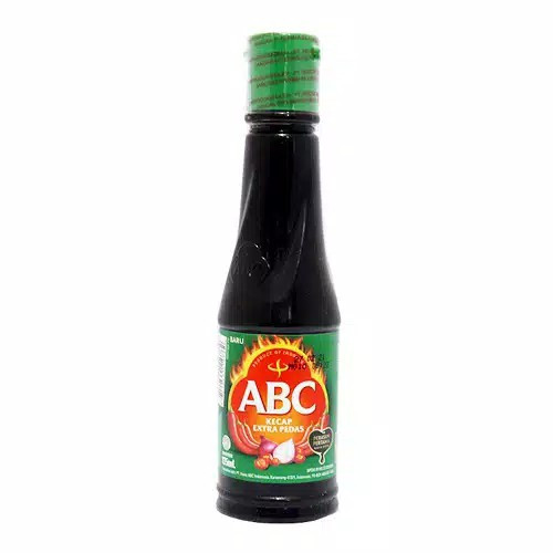 ABC Kecap Extra Pedas (extra spicy soy sauce),  135 ml - 4.56 fl oz