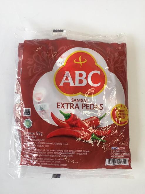 ABC Sambal Extra Pedas  8gr x 22 Sachet