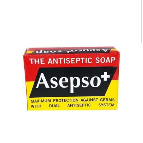 Asepso+  The Antiseptic Soap, 80 gr