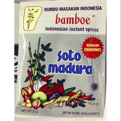 Bamboe Bumbu Instant Soto Daging Madura Spices (Econo pack), 33 Gram