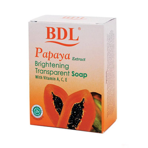 BDL Brightening Transparent  with Papaya Extract (Pepaya), 128 Gram